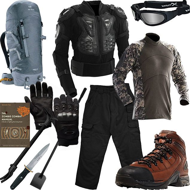 Apocalypse survival clothing material