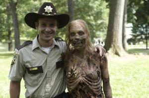 behind the scenes of TWD