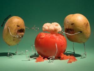 potato zombies when food goes bad