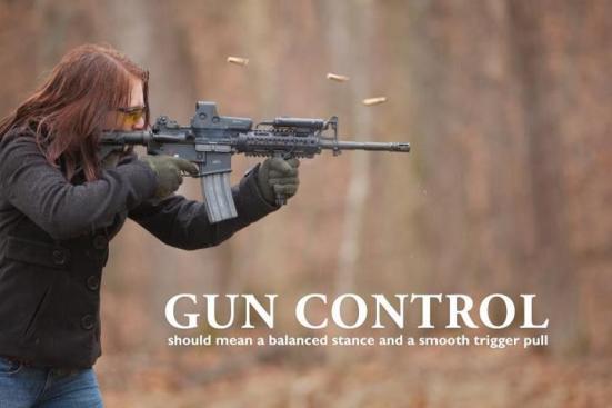 gun control balance and stance