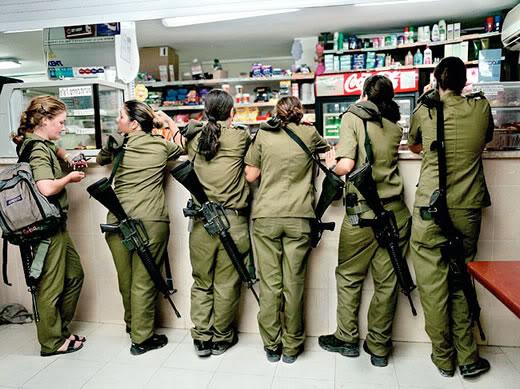 israeli-rifle-girls